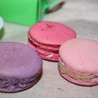 Макароне — французское пирожное :: Таня Фиалка
