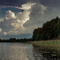 На рыбалке за бортом :: Михаил Александров
