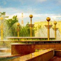 Фонтаны в Павлодаре :: Даурен Ибагулов