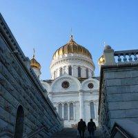 Ступени  к  Храму.... :: Galina Leskova