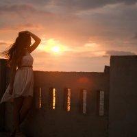 Закат на море... :: Никита Пищов