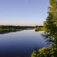 Лето.Вечер.Озеро. :: Ильдус Хамидулин