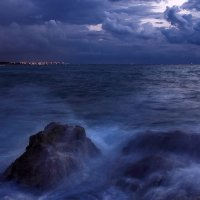 Холодный закат :: Юрий Вайсенблюм