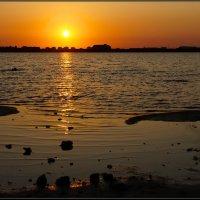 Закат на озере Мойнаки :: Igor Khmelev