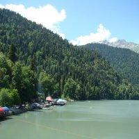 На озере Рица (этюд 3) :: Константин Жирнов