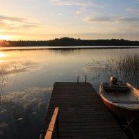 утро начинается с рассвета :: liudmila drake