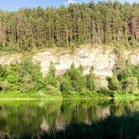 панорама скал на реке Агидель. :: Дмитрий Учителев