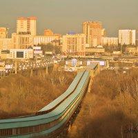 Новосибирск.  Метромост. :: Елена Суксина