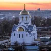 закат над городом :: Екатерина Пономарева