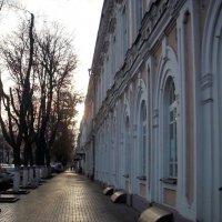 Зимнее утро. Таганрог ул.Петровская. :: Ирина Прохорченко