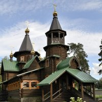 Храм в пос.Снегири, МО. :: Александр Белоглазов