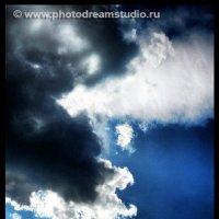 Этюд  в голубых тонах :: Андрей Устюжанин