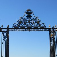 Решетка Летнего сада. Центральные ворота. :: Маера Урусова