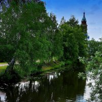 Тихая речка Колокша. :: марк