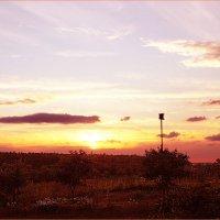 Июльский закат :: vladost2010(Владимир) Постоев