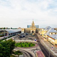 Обновлённый ж/д вокзал.Брест. :: Сергей Хомич