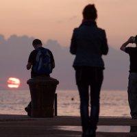 О море, закате, и романтике... :: Елена Чапцева