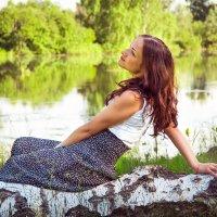 Озеро в лесу.. :: Олеся Гордей