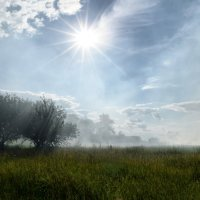 В туманной дымке голубой :: Татьяна Кретова