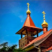 Часовня у храма :: Игорь Вишняков