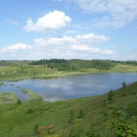 Вид на озеро с тропы здоровья :: BoxerMak Mak