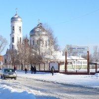 Успенская церковь зимой. :: Владимир Михайлович Дадочкин