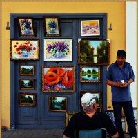 Выставка - продажа картин. :: Владимир Валов