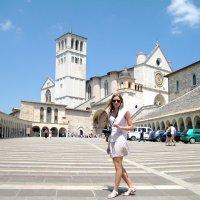 Базилика Сан Франческо. Ассизи. Италия :: Надежда Гусева