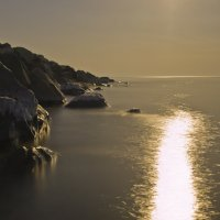 Черное море под луной :: Дмитрий