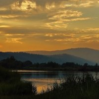 Небо, горы и вода! :: Валентина Налетова