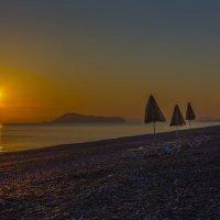 утоо пляж греция. западный крит. :: юрий макаров