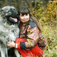 Оленька и Пеня :: Екатерина Бобкова