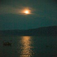 ночь на иртыше :: Sergey Baturin