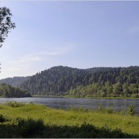 река Томь :: Дмитрий (White Starik) Фотолюбитель