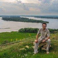 На фоне Камы :: Sergey Kuznetsov