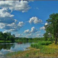 на Святом озере, Валдай :: Дмитрий Анцыферов