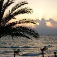 Закат на Средиземном море. :: Жанна Викторовна