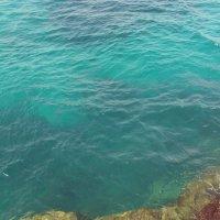 Голубая Лагуна, штиль, глубина более 20 метров :: Василий Авдеенко