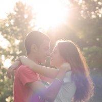 солнечная любовь :: Gannochka