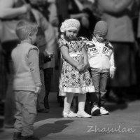 Треугольник детский :: Евгений Мергалиев