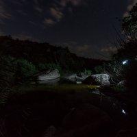 Ночь в Актовском каньоне :: Сергей Волков