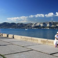 Беседы на фоне моря :: Константин Николаенко