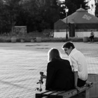Первое свидание :: Светлана Шмелева
