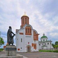 Храмы на замковой горе,г.Белая Церковь.(панорама) :: Vladimir Kushpil