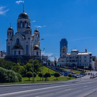 Екатеринбург, храм на крови :: vladimir