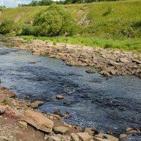 На реке Саблинка (этюд 1) :: Константин Жирнов