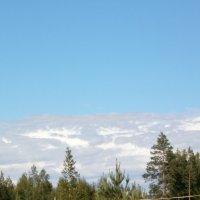 Облака,словно горы,вдали.... :: Валентина Жукова