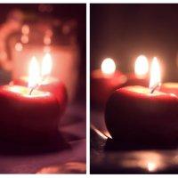 Вечер. Свечи. :: Полина Ямина