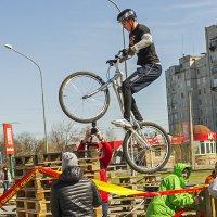 Соревнования по велотриалу :: Богдан Петренко
