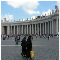 На площади Святого Петра :: Наталья (Nata-Cygan) Цыганова